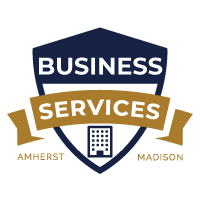Business Services Badge | Amherst Madison