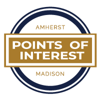 Points of Interest Badge | Amherst Madison